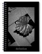 Definition Spiral Notebook