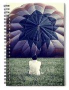 Deflated Spiral Notebook
