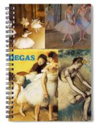 Degas Collage Spiral Notebook