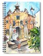 Del Carmen Church In Cartagena Spiral Notebook