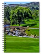 Del Mar Country Club Spiral Notebook