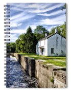 Delaware Canal Kingston New Jersey Spiral Notebook