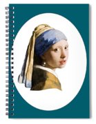 Delft Blue Flip Side Spiral Notebook