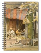 Delhi - Jeweller, From India Ancient Spiral Notebook