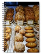 Delicasies In Laderee On The Champs De Elysees Spiral Notebook