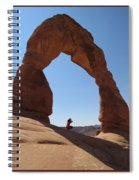 Delicate Arch - Skyview Spiral Notebook