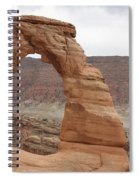 Delicate Arch Landscape Spiral Notebook