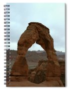 Delicate Arch View Spiral Notebook