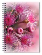 Delicate Buds And Blossoms Spiral Notebook