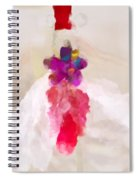 Delicate Dance - Impressionistic Dancer Spiral Notebook