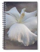 Delicate Hibiscus Spiral Notebook