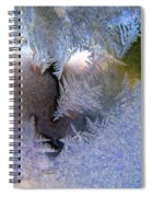 Delicate Ice - Digital Painting Effect Spiral Notebook