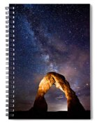Delicate Light Spiral Notebook