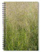 Delicate Tall Grasses Spiral Notebook