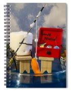 Delicious Fish Spiral Notebook
