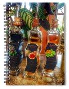 Delight With Vinegar Spiral Notebook