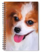 Delightful Papillon Spiral Notebook