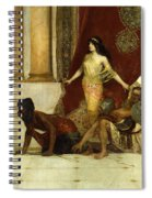 Delilah And The Philistines Spiral Notebook
