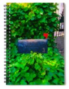 Deliver The Mail Spiral Notebook