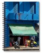 Delivery Boy - Sao Paiulo Spiral Notebook