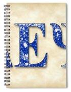 Delta Epsilon Psi - Parchment Spiral Notebook