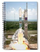 Delta II Launch With Space Telescope Spiral Notebook