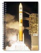 Delta Iv Rocket Taking Off Spiral Notebook