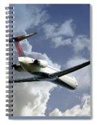 Delta Jet Spiral Notebook