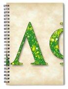 Delta Lambda Phi - Parchment Spiral Notebook