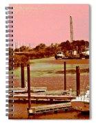 Delta Marina And Hues Of Color Spiral Notebook