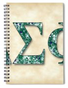 Delta Sigma Phi - Parchment Spiral Notebook