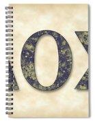 Delta Theta Sigma - Parchment Spiral Notebook