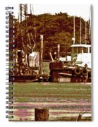 Delta Tug Boats At Work Spiral Notebook