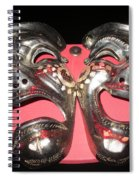 Masques / Tragedy/comedy Masks Spiral Notebook