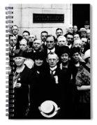 Democractic Delegates, 1920 Spiral Notebook