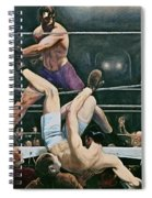 Dempsey V Firpo In New York City Spiral Notebook