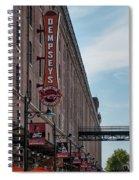 Dempseys Brew Pub Spiral Notebook