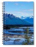 Denali Mountain Range Spiral Notebook