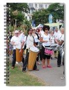 Dende Nation Samba Drum Troupe Spiral Notebook