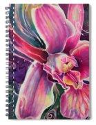 Dendrobium II Spiral Notebook