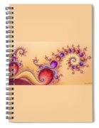 Dendrocometes Spiral Notebook
