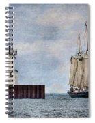 Denis Sullivan Spiral Notebook