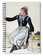 Denmark Vegetable Vendor Spiral Notebook