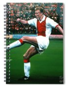 Dennis Bergkamp Ajax Spiral Notebook