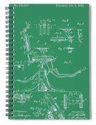 Dental Chair Patent Spiral Notebook