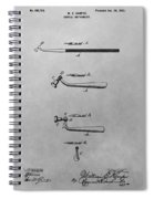 Dental Instrument Patent Drawing Spiral Notebook