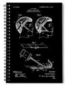 Dental Patent  Office Art Spiral Notebook