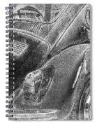 Dented Ego Spiral Notebook
