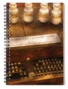 Dentist - Detachable Tooth Shade Guide  Spiral Notebook