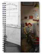 Dentist - S.b. Johnston Dentist 1919 - Side By Side Spiral Notebook